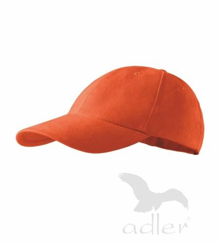 dětská kšiltovka 6P KIDS oranžová