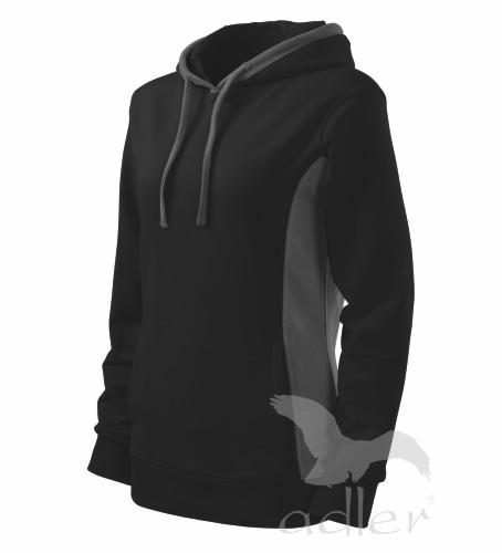 Mikina dámská KANGAROO XL černá