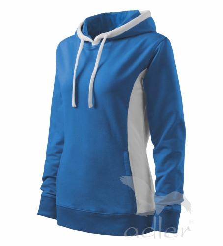 Mikina dámská KANGAROO XL azurově modrá