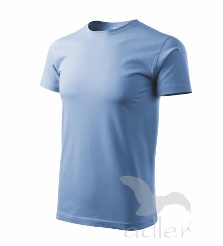 Tričko pánské BASIC M nebesky modrá