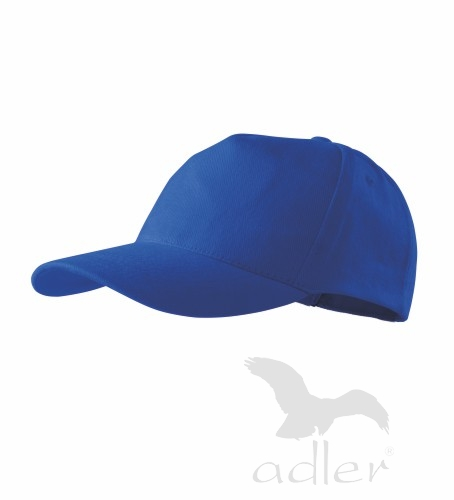 Čepice s kšiltem unisex 5P královská modrá