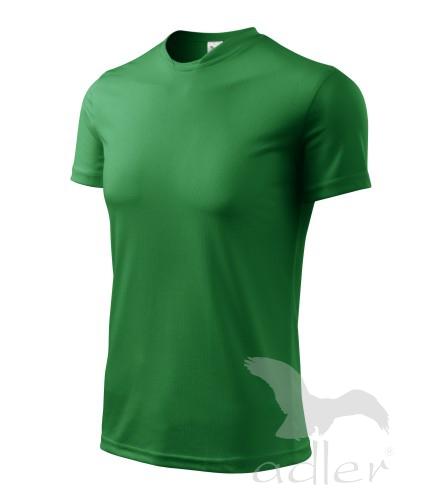 Tričko dětské FANTASY 146/10 let středně zelená
