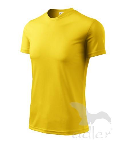 Tričko dětské FANTASY 122/6 let žlutá