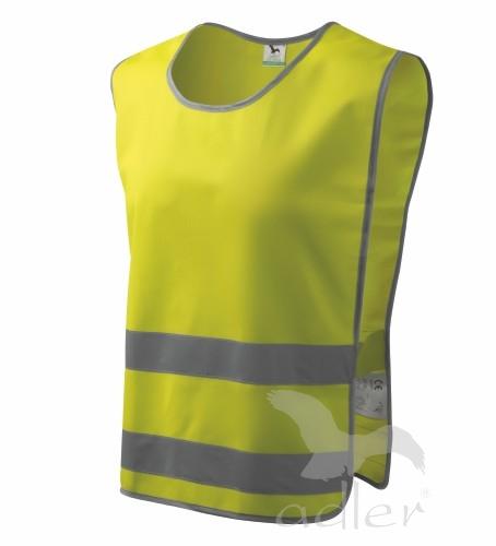 Bezpečnostní vesta Classic Safety M reflexní žlutá
