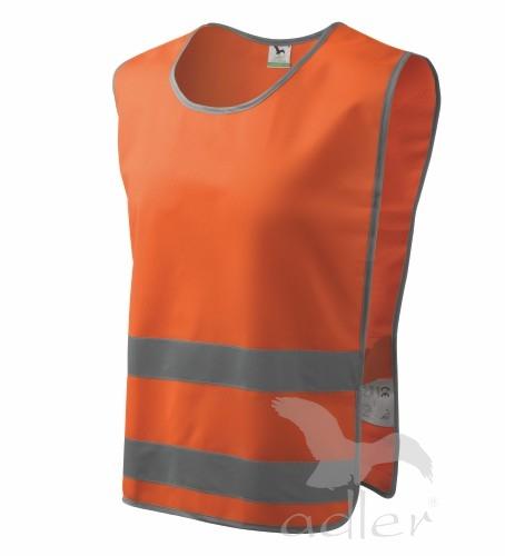 Bezpečnostní vesta Classic Safety M reflexní oranžová