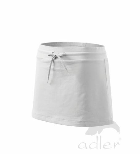 Sukně dámská Skirt two in one M bílá