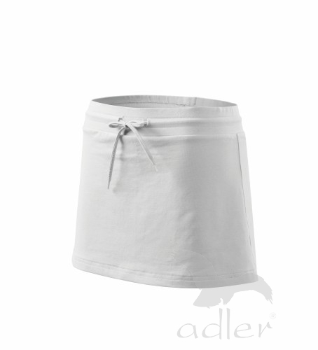 Sukně dámská Skirt two in one L bílá