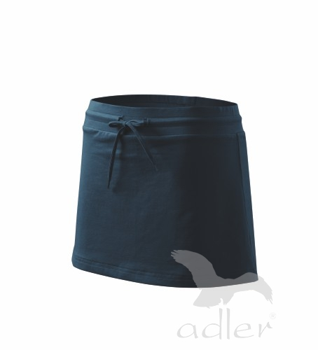 Sukně dámská Skirt two in one XL námořní modrá