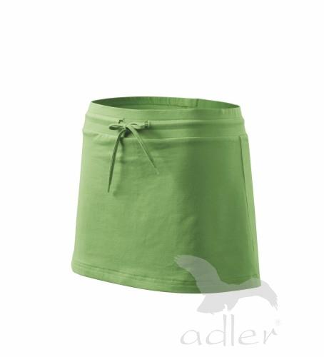 Sukně dámská Skirt two in one S trávově zelená