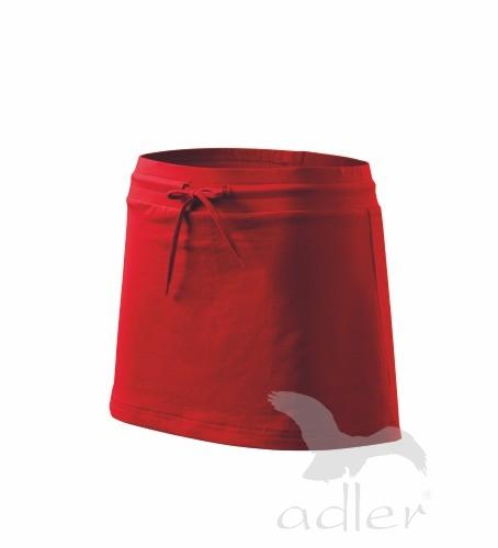 Sukně dámská Skirt two in one XL červená