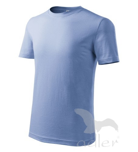 Dětské tričko CLASSIC NEW 134/8 let nebesky modrá