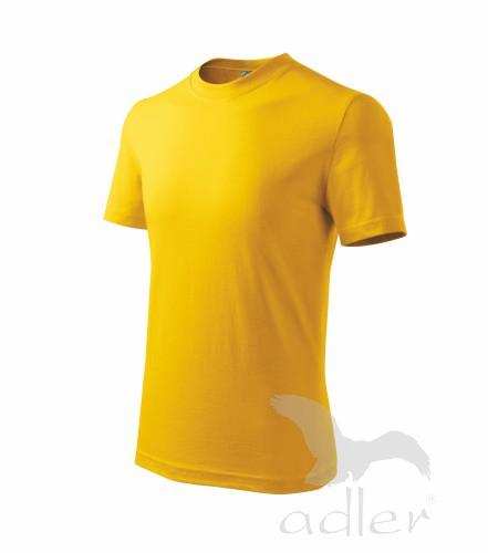 Tričko dětské BASIC 122/6 let žlutá