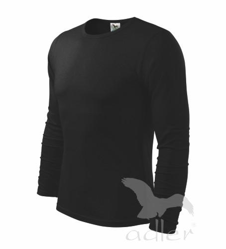 Triko dlouhý rukáv Long Sleeve S černá