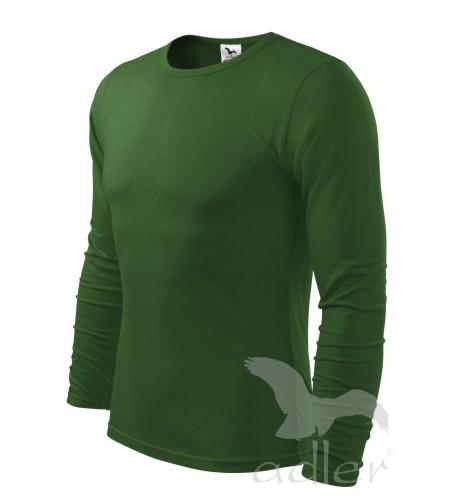 Triko dlouhý rukáv Long Sleeve S lahvově zelená