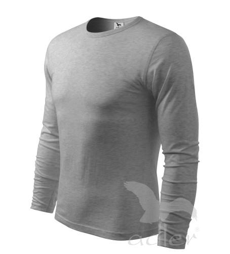 Triko dlouhý rukáv Long Sleeve XL tmavě šedý melír