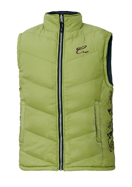 Dámská zateplená vesta YOWIE XXL trávově zelená