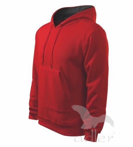 Mikina pánská Hooded Sweater M červená