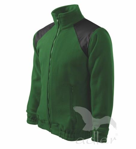 Bunda fleece JACKET Hi-Q L lahvově zelená