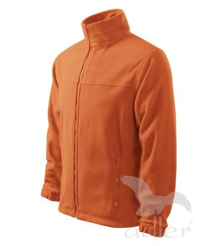 Bunda pánská Fleece Jacket L oranžová