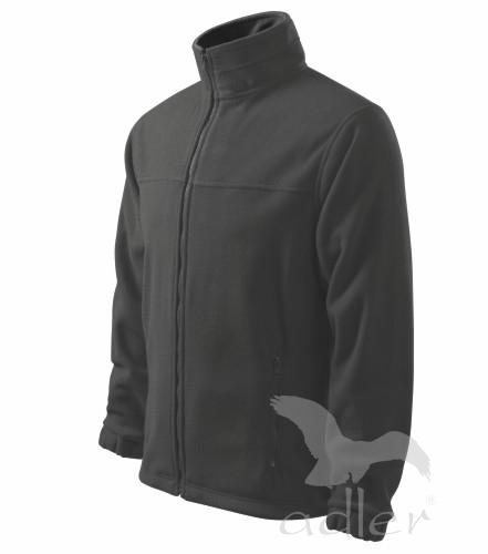 Bunda pánská Fleece Jacket L ocelově šedá