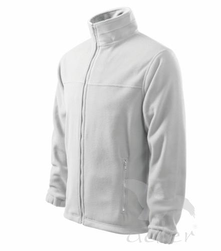 Bunda pánská Fleece Jacket XL bílá