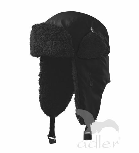 Zimní čepice Furry L černá