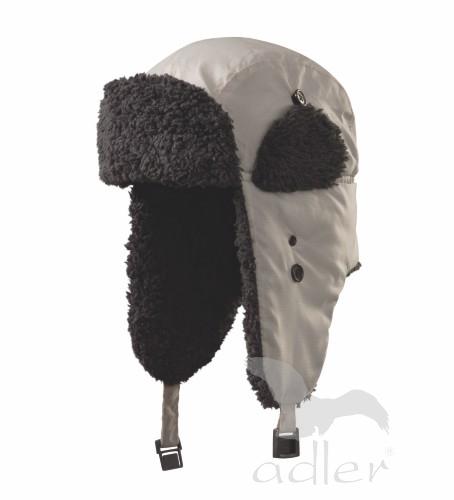 Zimní čepice Furry L stříbrná