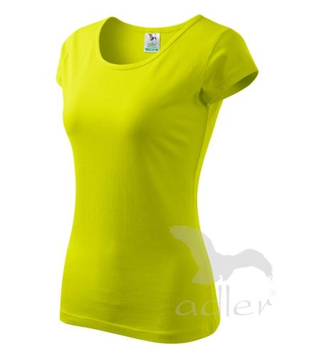 Tričko dámské PURE XL limetková