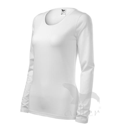 Tričko dámské Slim S bílá