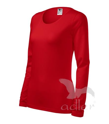 Tričko dámské Slim S červená