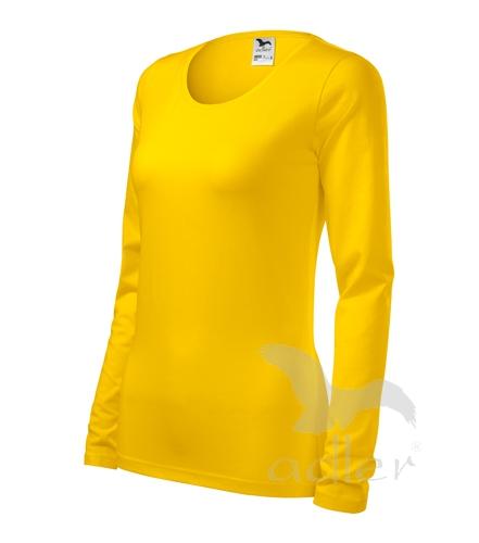 Tričko dámské Slim S žlutá