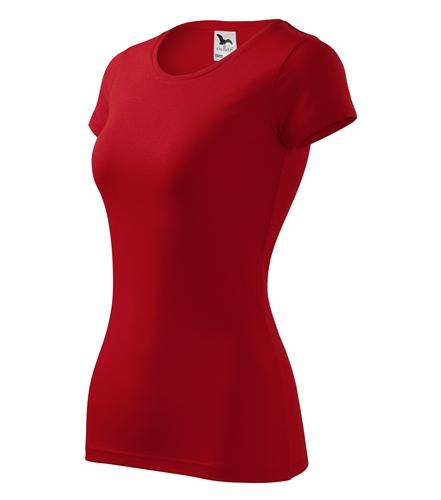 Tričko dámské GLANCE S červená