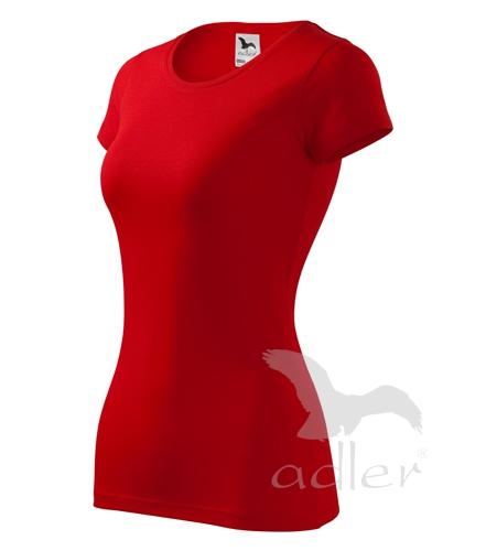Tričko dámské GLANCE XL červená