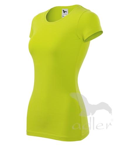 Tričko dámské GLANCE M limetková