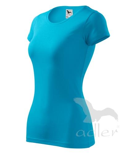Tričko dámské GLANCE XS tyrkysová