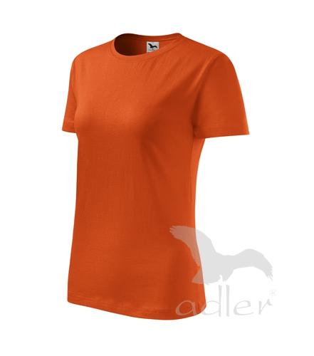 Tričko dámské barevné CLASSIC NEW M oranžová