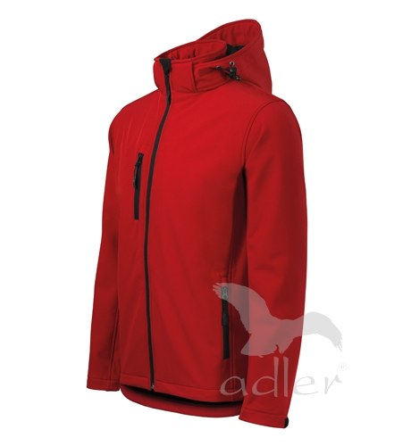 Softshellová bunda pánská PERFORMANCE XXXL červená