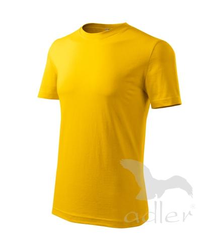 Tričko pánské barevné L žlutá