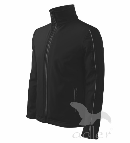Bunda pánská Softshell Jacket XXXL černá