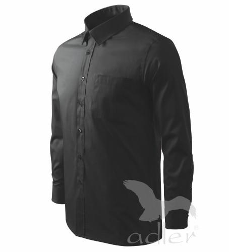 Košile pánská Shirt long sleeve XXXL černá