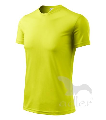 Tričko dětské FANTASY 122/6 let neon yellow
