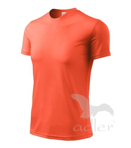 Tričko dětské FANTASY 122/6 let neon orange