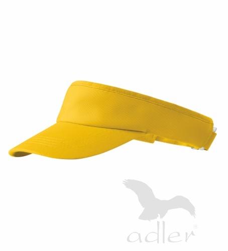 čepice kšilt Sunvisor žlutá