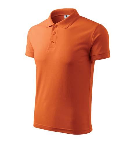 Polokošile pánská PIQUE POLO L oranžová