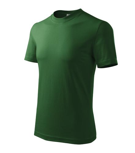 Tričko unisex HEAVY M lahvově zelená