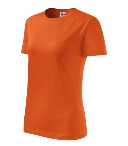 Tričko dámské BASIC M oranžová