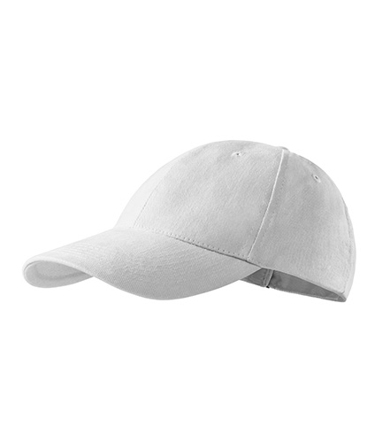 Čepice 6P bílá