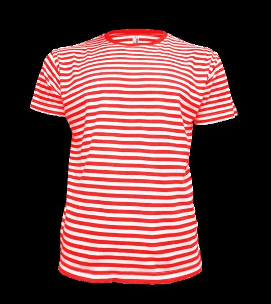 námořnické tričko dětské 110 červená