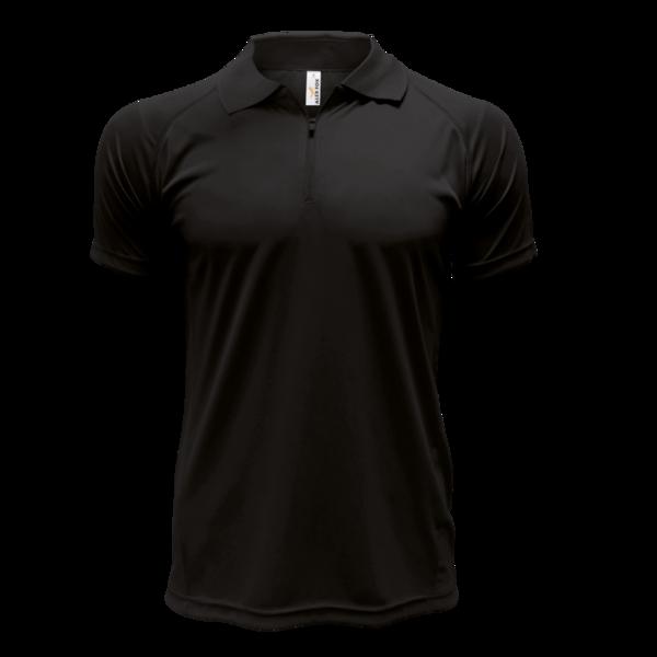 Funkční triko Polo Gents Colorado M černá