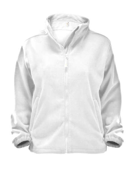 Mikina dámská Jacket Alberta S bílá